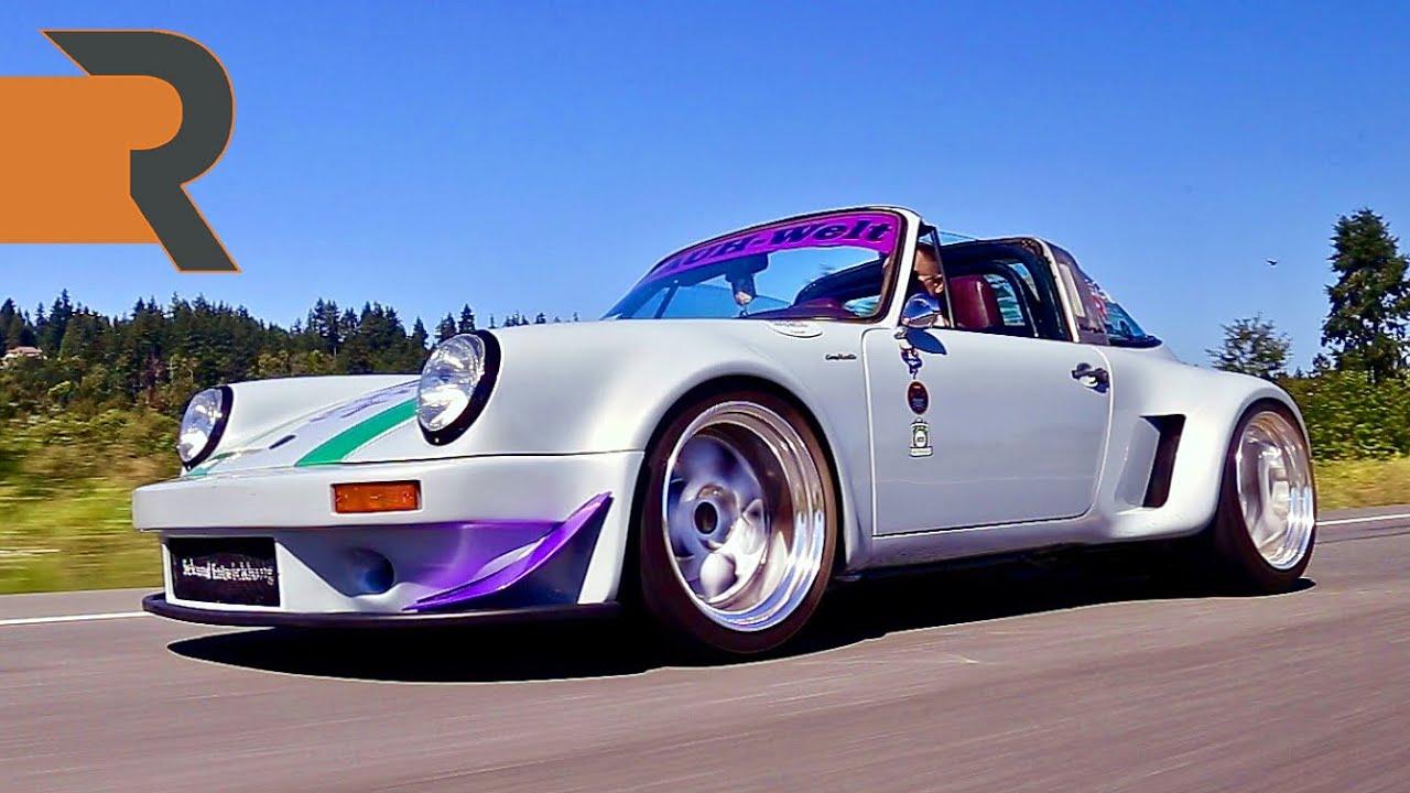 Porsche 911 в кузове сложной формовки