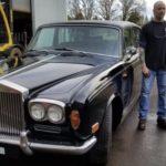 Старый Rolls-Royce с тесловским «электросердцем»