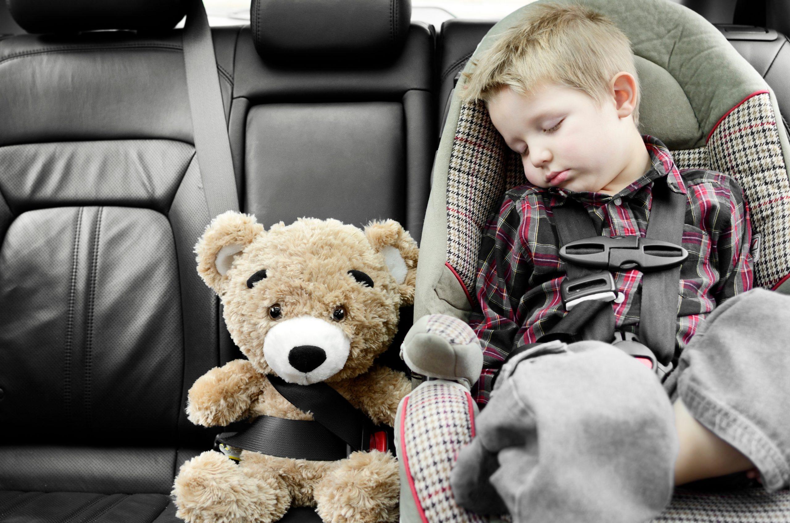 Система предупреждения о забытых в машине детях
