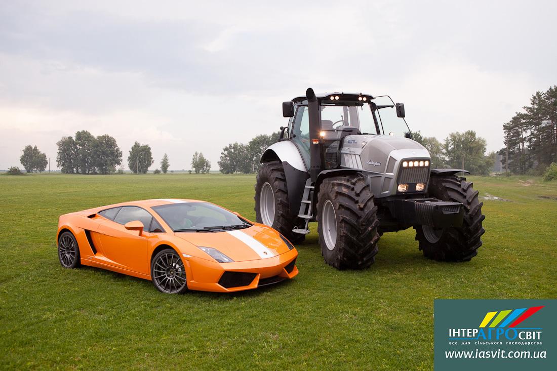 Тракторы от Porsche и Lamborghini