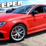 900-сильный Audi RS3 – быстрый седан