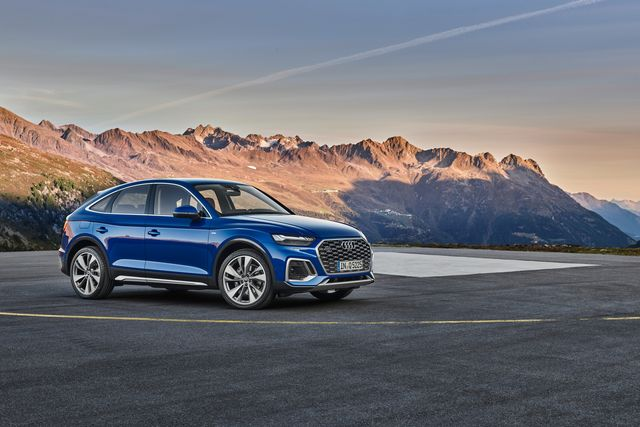 Audi представляет Q5 Sportback 2021 года