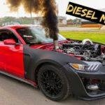 Дизельный Ford Mustang оскорбил чувства фанатов