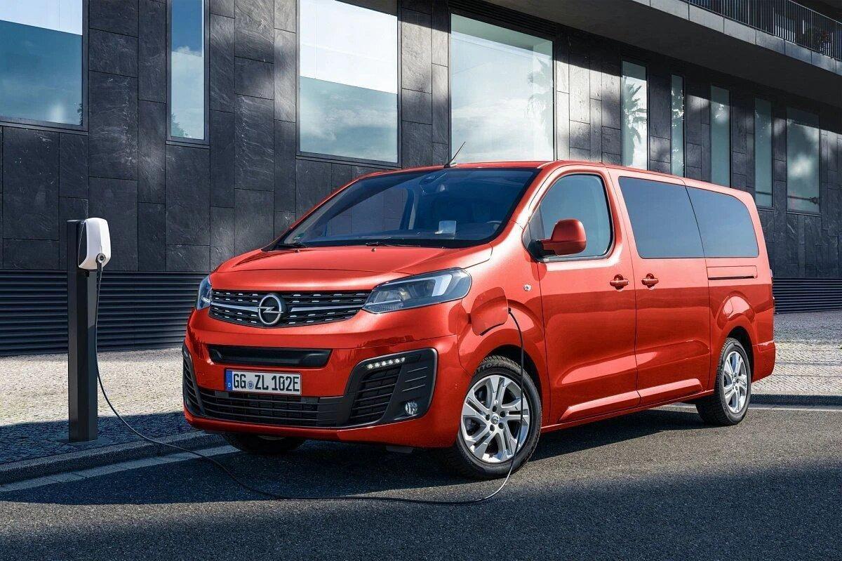 Электрический Opel Vivaro-e Life