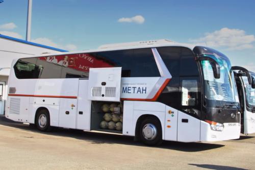Газовые автобусы в России