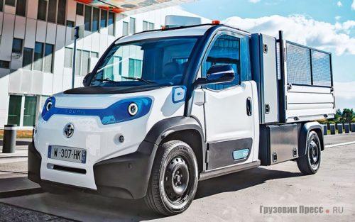 Городской электрический грузовик Goupil G6