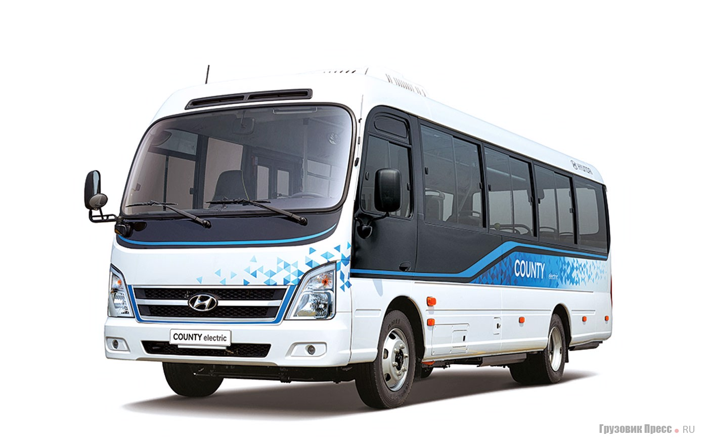 Hyundai County Electric - электрический мидибус