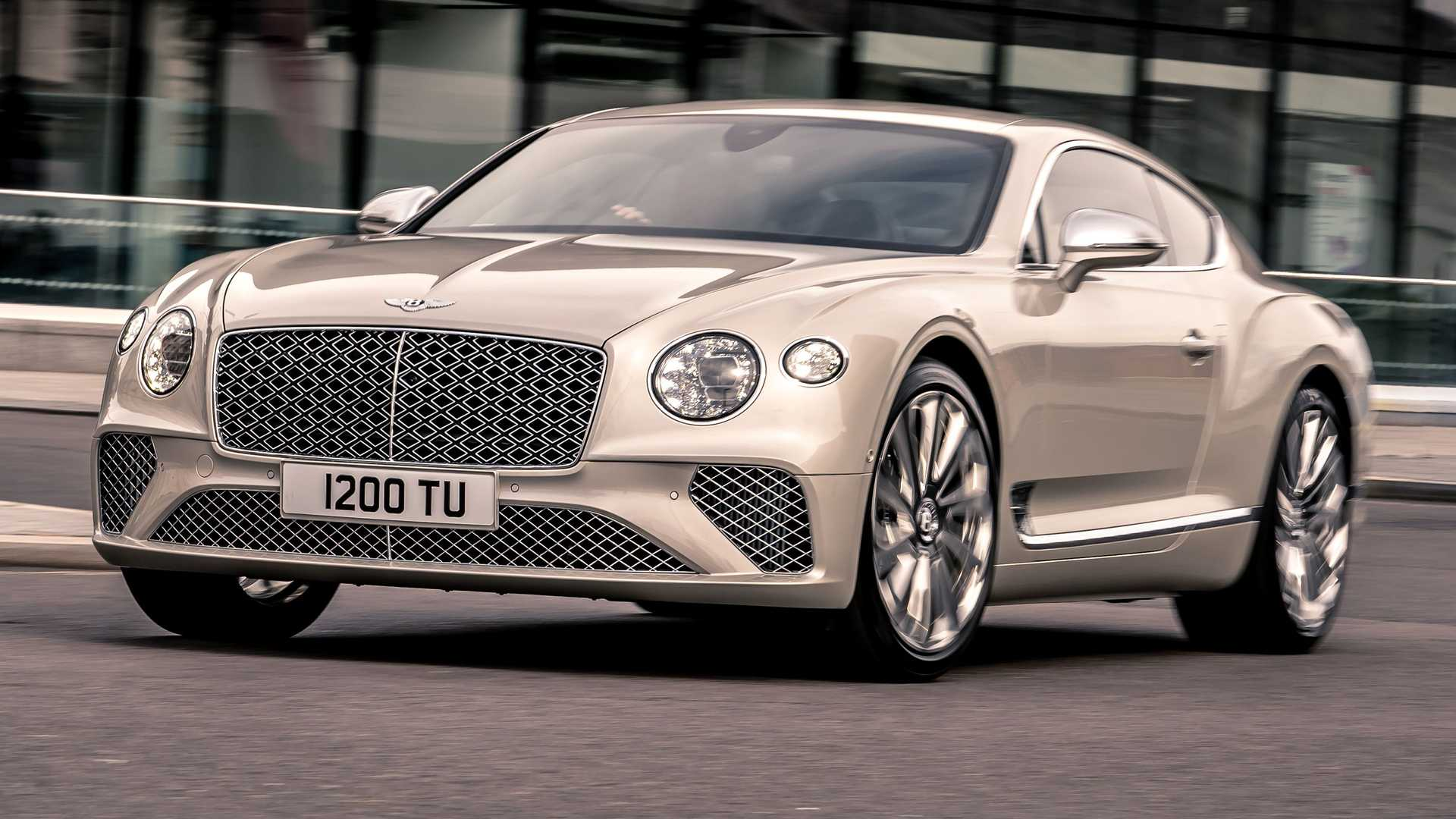 Купе Bentley Continental GT доработали