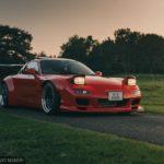 Купе Mazda RX-7 с турбонагнетателем