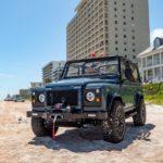 Land Rover Defender для пляжа от тюнеров