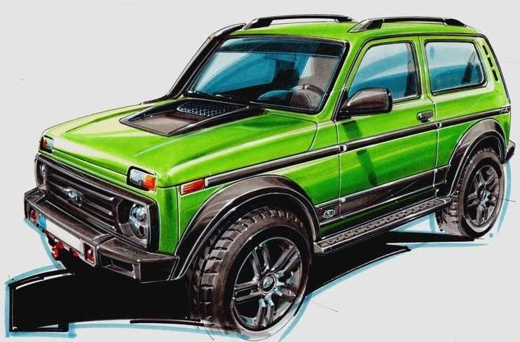 Лимитированную Lada 4x4 за 1,8 млн рублей будут собирать в Германии