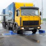 Нагрузка на ось грузовика – как измерить