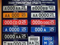 Новые регистрационные знаки - что о них нужно знать