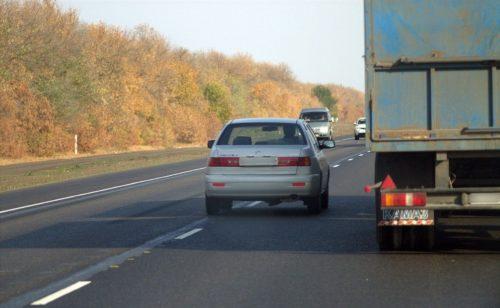 Ошибки водителей во время обгона