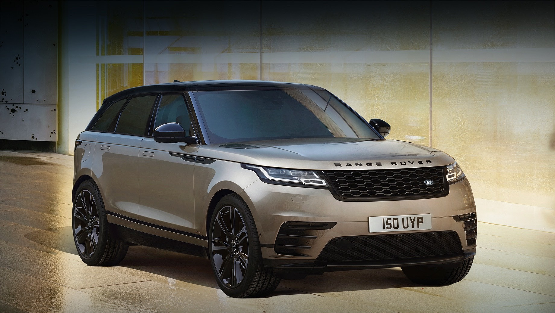 Range Rover Velar с новыми агрегатами