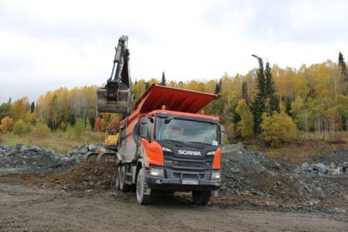 Самосвал Scania HAGEN S