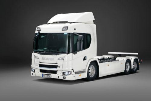 Scania - серийное производство гибридных и электрических грузовиков