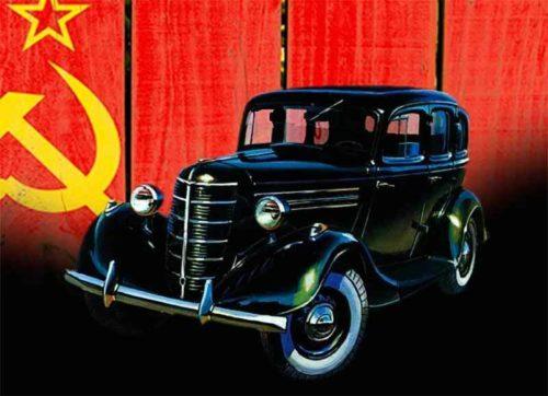 Советский ГАЗ М-1 «Эмка»