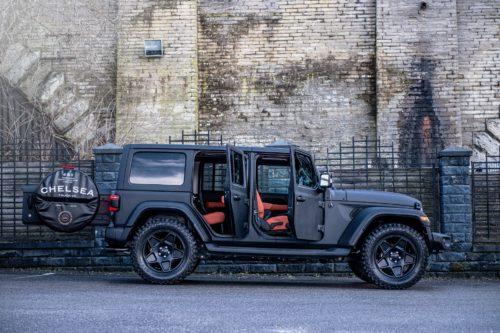 Уникальный Jeep Wrangler