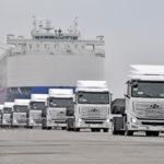 Водородные грузовики Hyundai