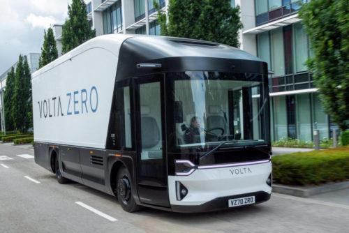 Volta Zero — электрогрузовик будущего