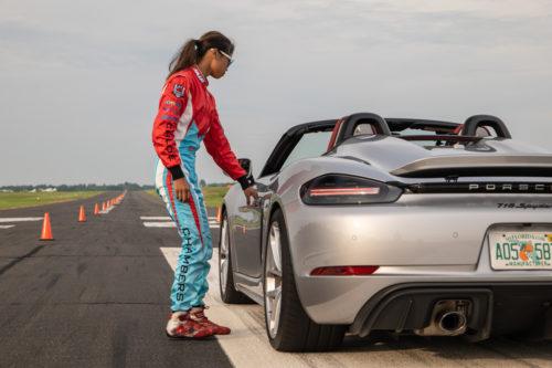 американка на Porsche установила мировой рекорд
