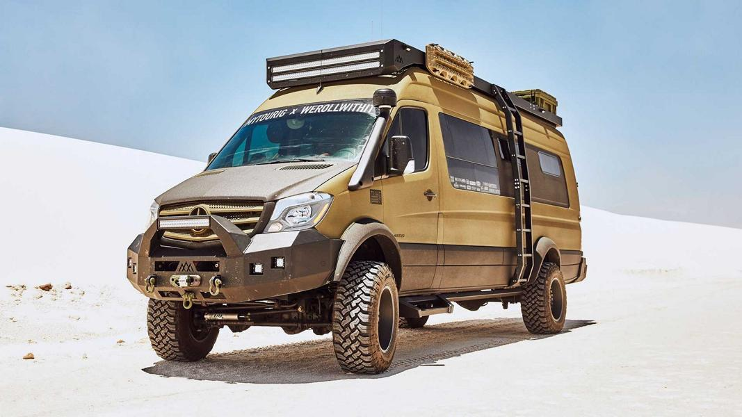 кемпер на базе Mercedes-Benz Sprinter