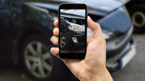 мелкие ДТП оформлять с помощью смартфона