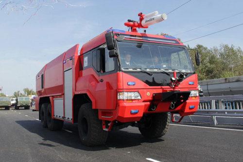 БАЗ - аэродромный пожарный автомобиль