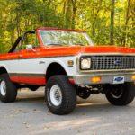 Восстановленный Chevrolet K5 Blazer