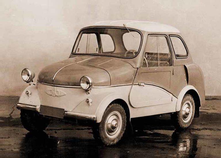 Легендарные советские мотоколяски