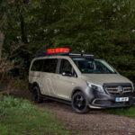 Минивэн Mercedes-Benz V-Class для путешествий