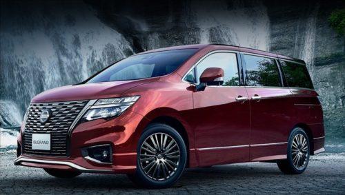 Nissan Elgrand после плановой модернизации