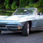 Отреставрированный кабриолет Chevrolet Corvette 1965 года
