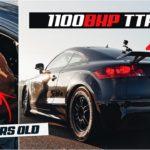 """Audi TT RS – 78-летний """"гонщик"""" идет на мировой рекорд"""