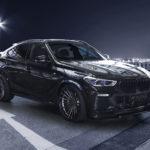 BMW X6 превратился в мускулистого чёрного монстра