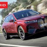 BMW iX 2022 года – электрический внедорожник мощностью 500 л.с.
