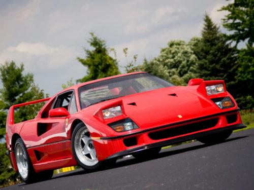 Ferrari F40 - обогнать Porsche и умереть