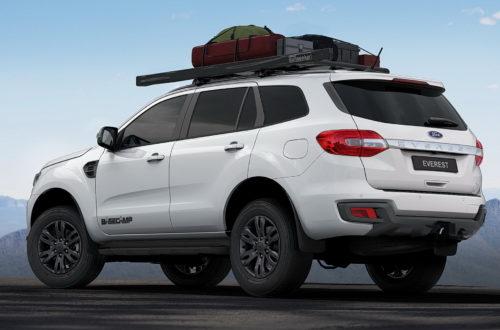 Ford Everest оброс опциями