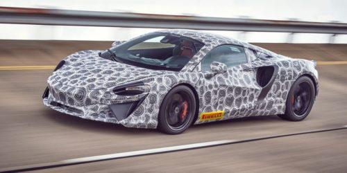 McLaren Artura - новый гибридный суперкар