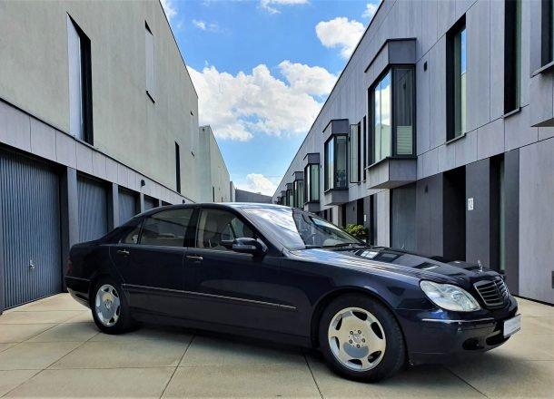 Mercedes-Benz S 600 Designo 2000 года