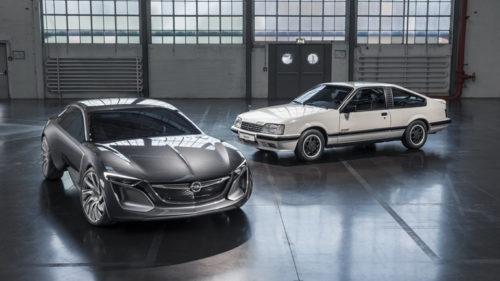 Opel Monza - новый электрокроссовер