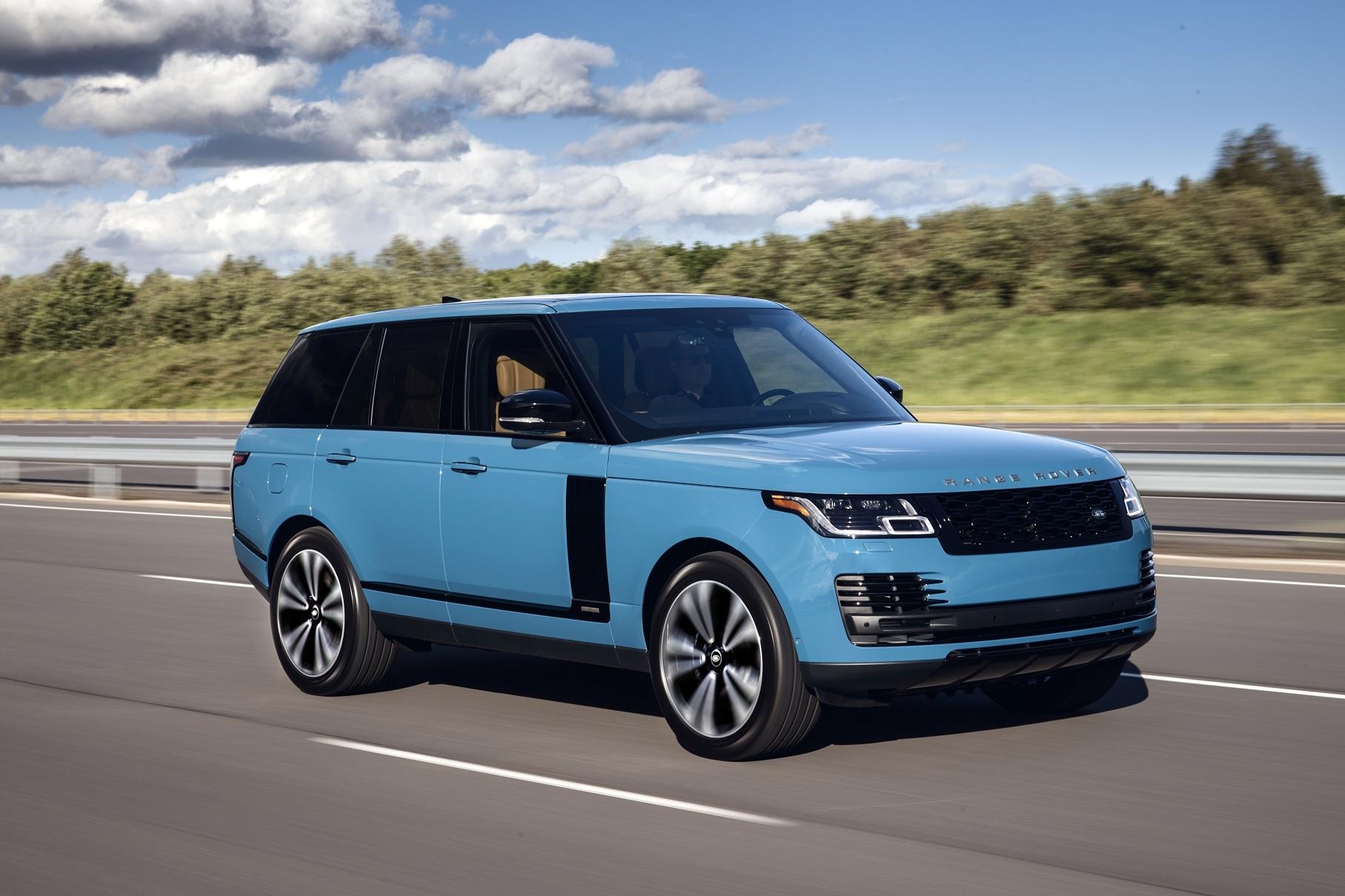 Range Rover Fifty - юбилейная версия внедорожника