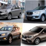 Рейтинг самых доступных новых автомобилей в России