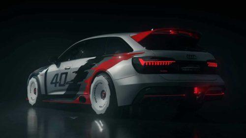 Ретро Audi RS 6 GTO
