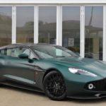 Спортивный универсал в форме Aston Martin