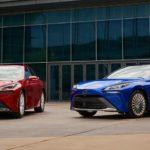 Toyota Mirai 2021 на водороде
