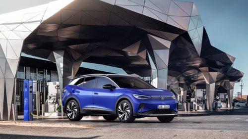 VW ID.4 2022 - приложение для удаленной парковки без водителя