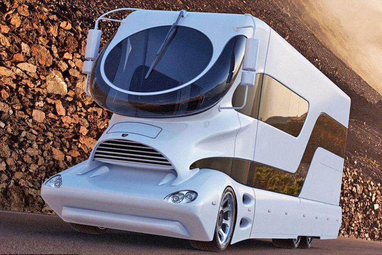 Автомобиль будущего или транспортный футуризм в стиле U