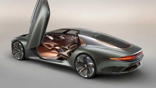 Bentley - первый электрокар